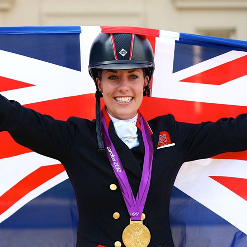 Team home for Charlotte dujardin